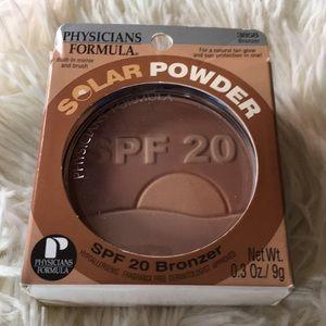 Brand new unused Physicians Formula SPF 20 Bronzer